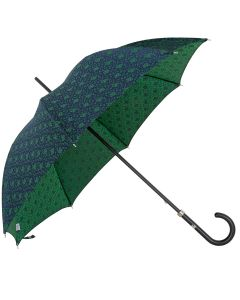 Oertel Handmade Ladies - Paisley - blue-orange | European Umbrellas