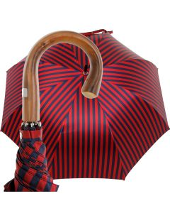 Oertel Handmade - Sport Stripes - blue-red | European Umbrellas
