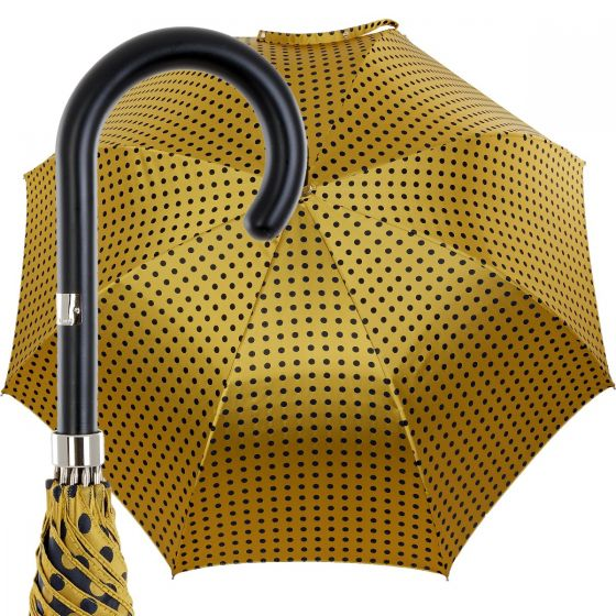 Oertel Handmade Ladies -  big dots -  gold/blue