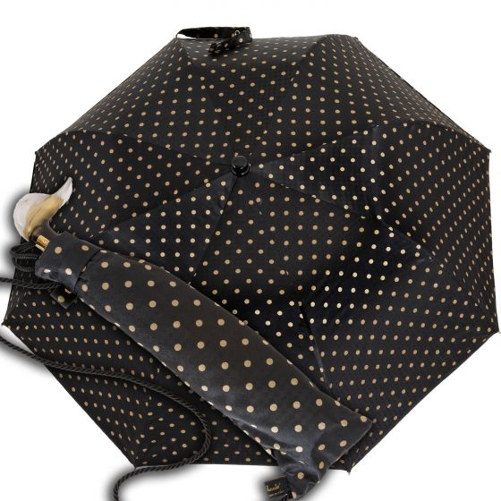 Marchesato - pocket umbrella - dots | European Umbrellas